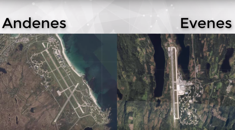 En video om Andøya flystasjon vs Evenes