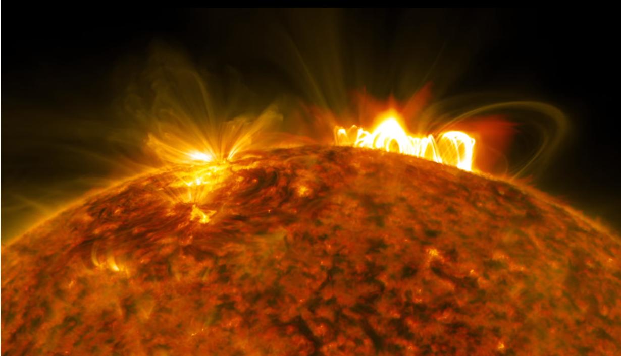 Gigantisk utbrudd på Solen – X9.33 Styrke