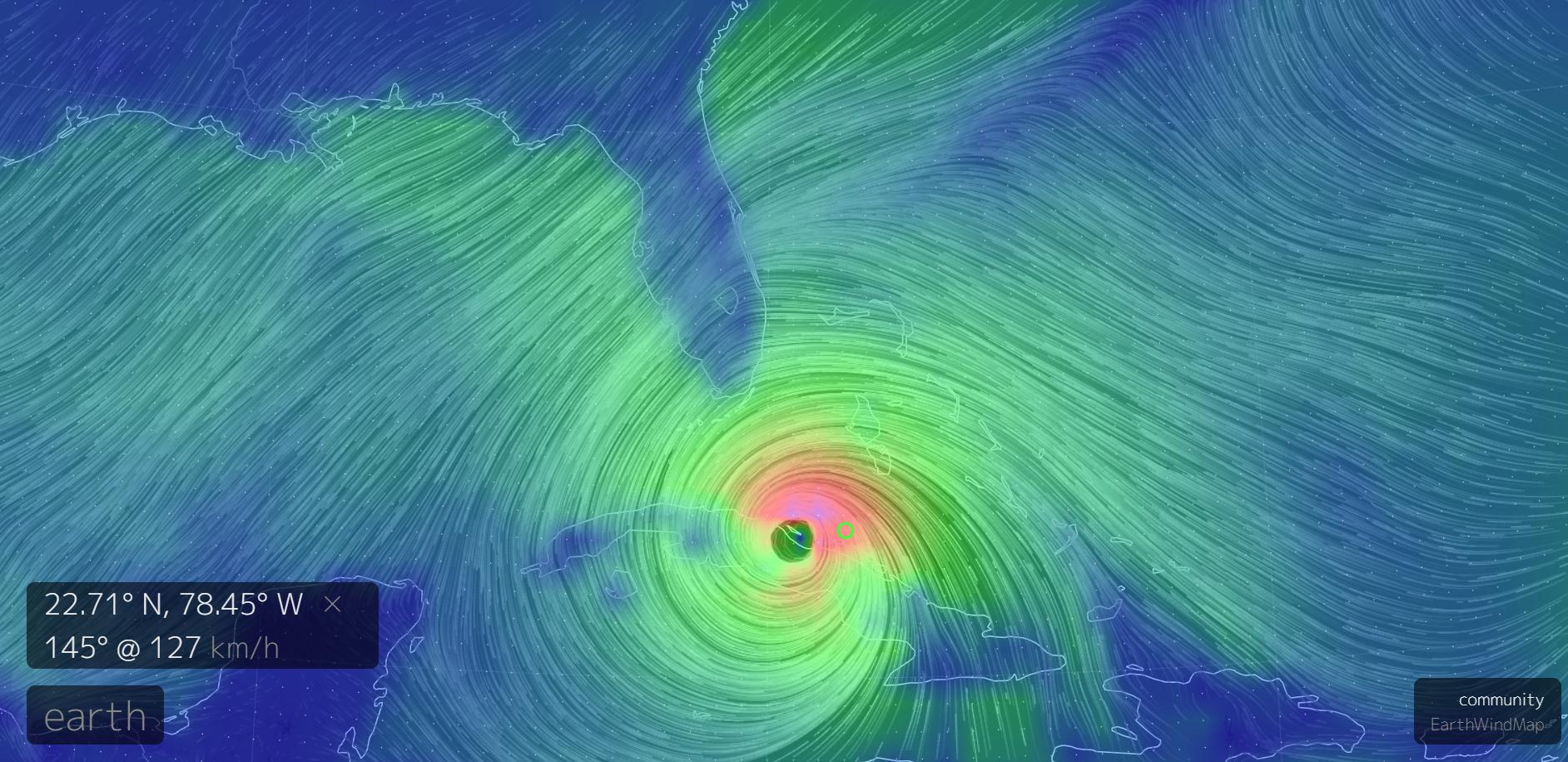 Følg orkanen Irma online her